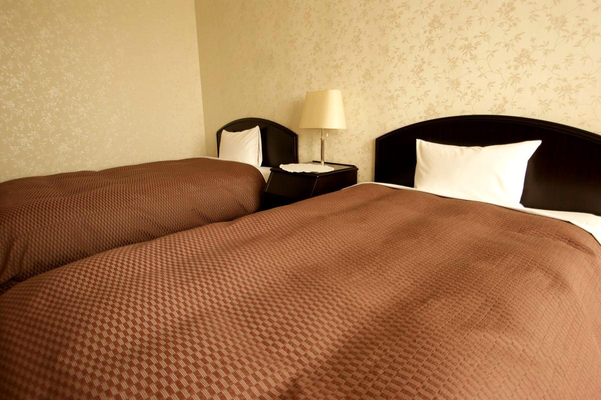 ベッドのアップ